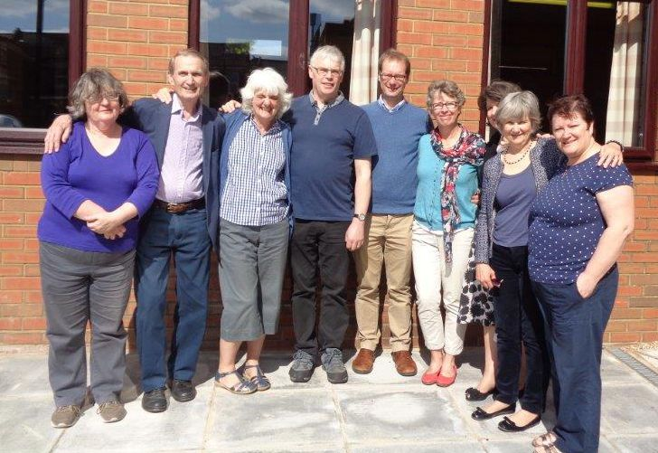 Trustees of Faith & Light UK at the 2016 AGM in Eastleigh